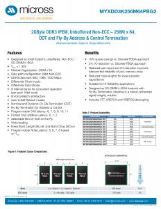 DDR3 iPEM - 256M x 64