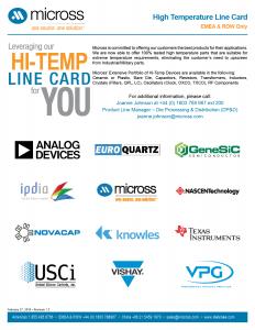 Hi-Temp Line Card
