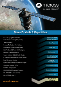 Space Capabilities