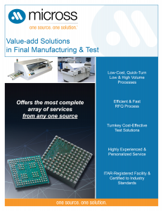 Clearwater Manufacturing and Test