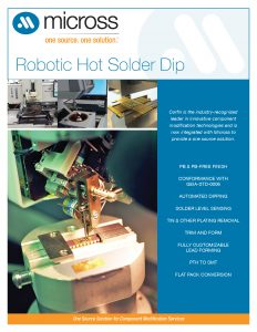 Robotic Solder Dipping